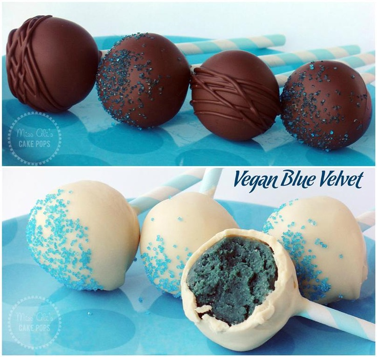 vegan cake pops vegan blue velvet cake pops with paper straws miss ali s 8247