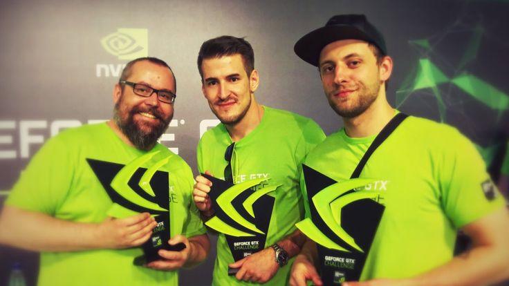 Wygraliśmy GTX Challenge!