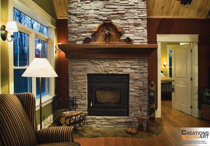Red Slate Southwest Style Fireplace Mantel Google Search