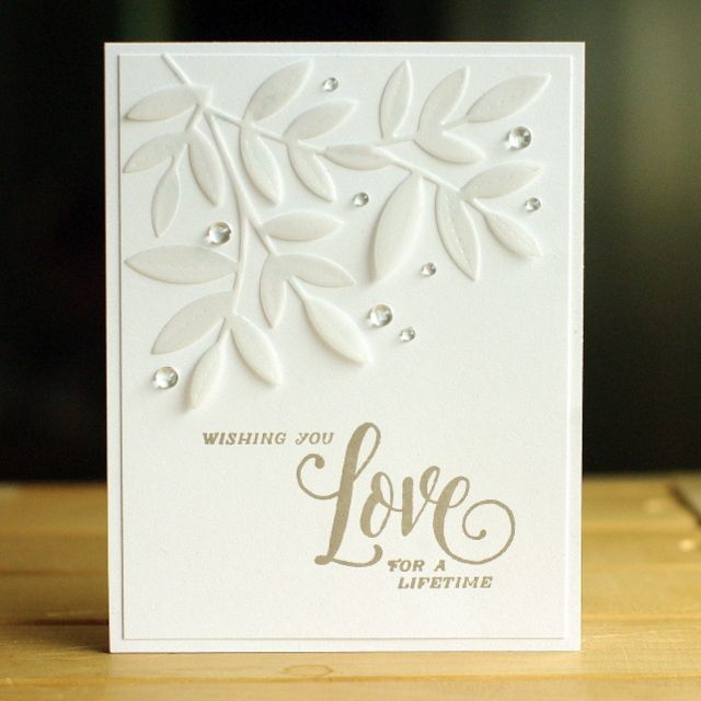 I'm enjoying playing along with the Papertrey Ink Stamp-a-faire Challenges today.So far, though, I've only made two cards.... but I have big plans to make more this afternoon! The cards that I made ar