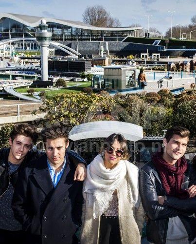 Fan Club de Martina Stoessel en Argentina: Tini en conferencia de prensa en Rotterdam