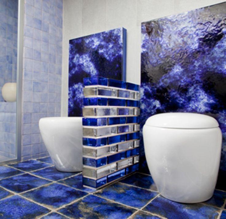 Glass Block Bathroom Designs