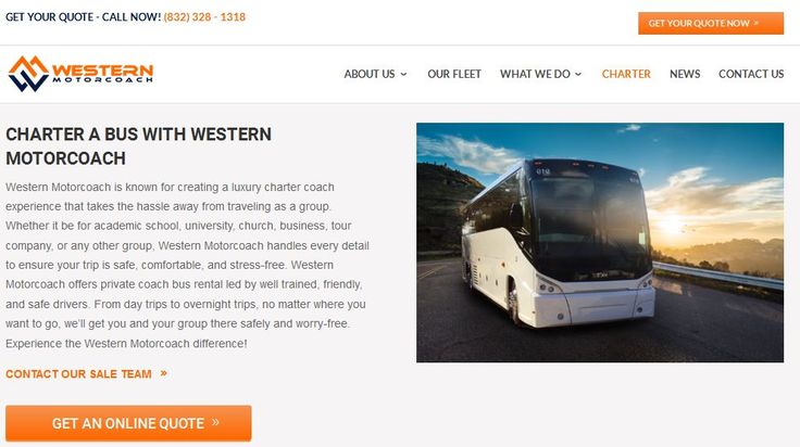 Western Motorcoach is one of the full service bus rental companies in Houston. We offer the full service luxury charter& shuttle bus rental transportation services in Houston. We are specialize & experienced in group travel tour.