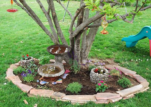 Flower Garden Ideas Around Tree 190 best landscaping ideas images on pinterest | landscaping ideas