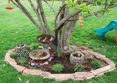 Flower Garden Ideas For Around Trees 190 best landscaping ideas images on pinterest | landscaping ideas