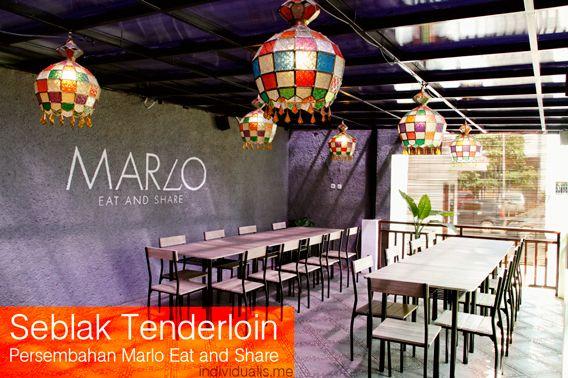 Marlo Eat and Share merupakan sebuah resto cafe yang terletak di jalan Tamblong 48 - 50 Bandung. Berlokasi di tempat yang strategis menjadikan kafe yang menyediakan makanan a la Eropa hingga masaka...