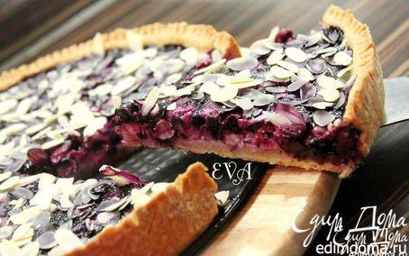 Финский черничный пирог   Кулинарные рецепты от «Едим дома!»