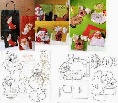 FELTRO MOLDES ARTESANATO EM GERAL: Feliz Natal!!!!! E proponho que deixemos as saud...
