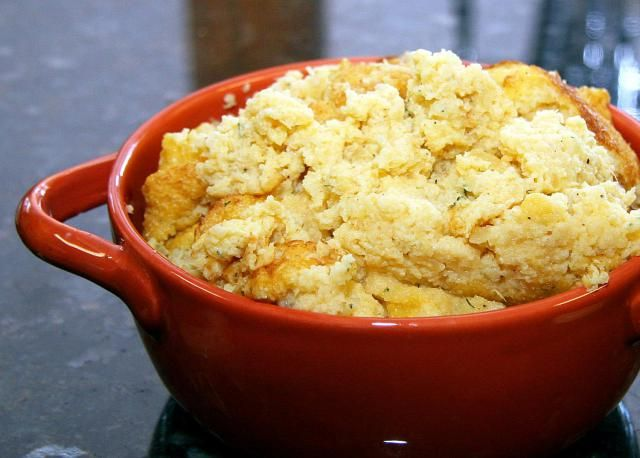 This rutabaga puff is a casserole made with mashed rutabaga, eggs, butter, dill, and other seasonings. More rutabaga recipes below.