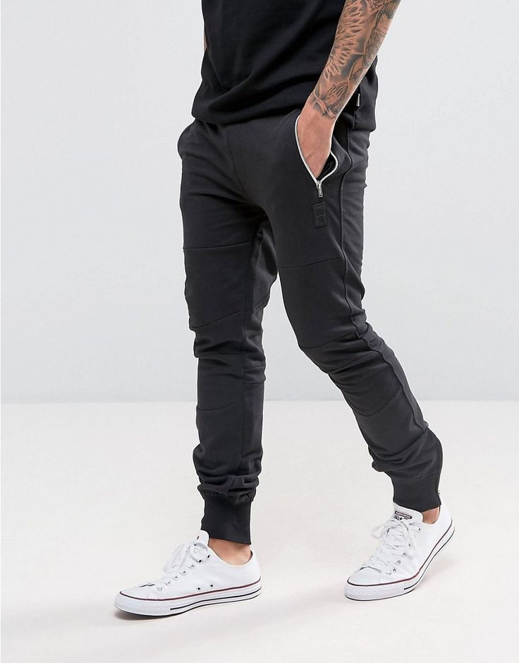 Get this Crosshatch's joggers now! Click for more details. Worldwide shipping. Crosshatch Ribbed Cuff Joggers - Black: Trousers by Crosshatch, Soft-touch sweat, Drawstring waistband, Side pockets, Panelled design, Tapered leg, Fitted cuffs, Slim fit - cut close to the body, Machine wash, 80% Cotton, 20% Polyester, Our model wears a W 32 and is 188cm/6'2 tall. (joggers, jog, jogger, joggers, jogging, joggings, jogger, joggers, joggeurs, joggers)
