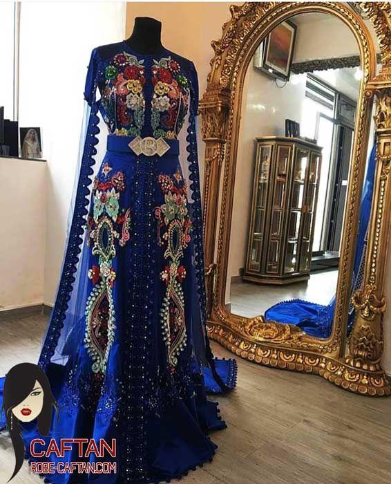 Caftan marocain | Robe moderne ornée 2016