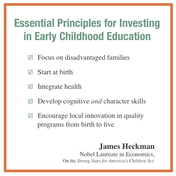 Early Learning: As Congress Considers The Strong Start For America's