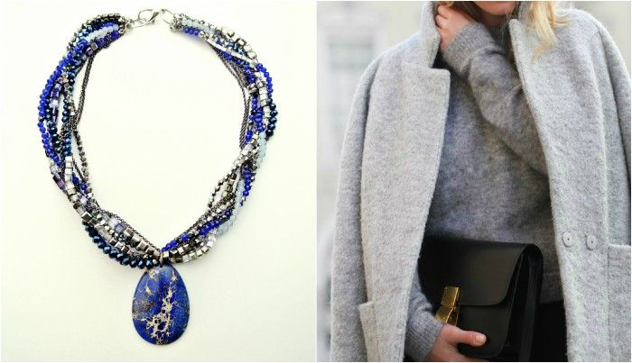 Empire Blue Necklace