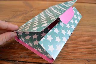 Vier vadndaag: eigen brievenbus doosje bouwen (met pdf tamplate).