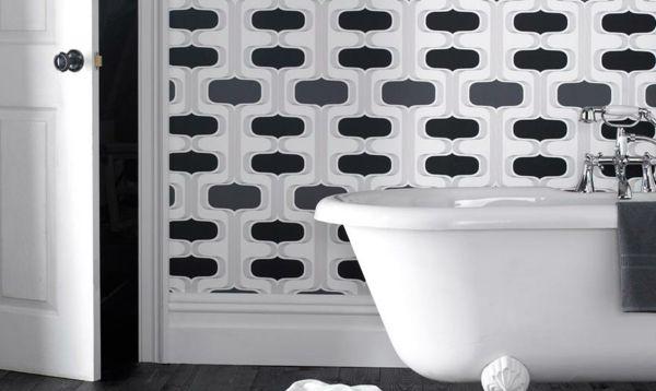 Pvc Tapete Dusche : ?ber 1.000 Ideen zu ?Badezimmer Tapete auf Pinterest Edle Tapeten