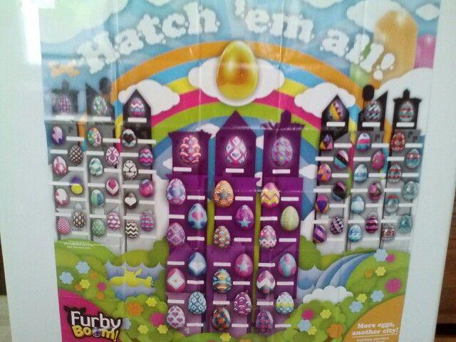 Furby Boom Eggs Poster...