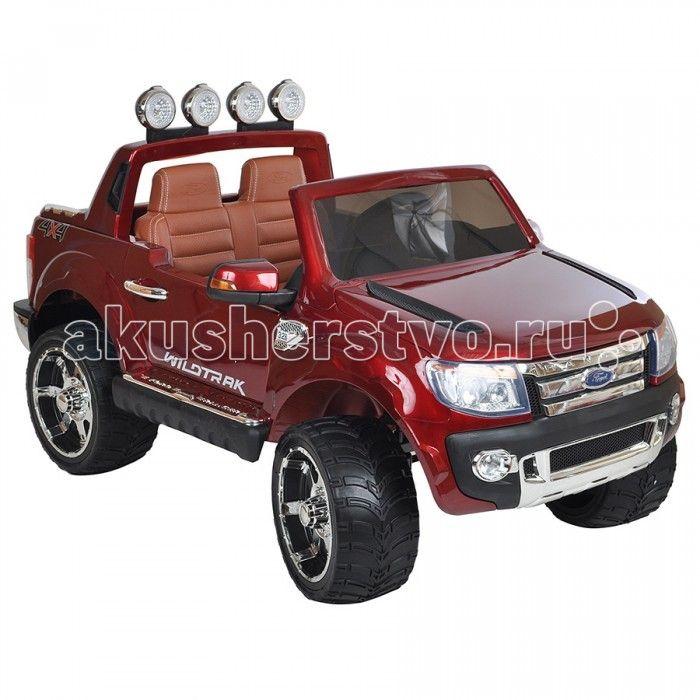 """Электромобиль Dake Ford Ranger  Электромобиль Dake Ford Ranger с потрсащим дизайном и качеством детализации дл детей от 1 года до 8 лет.  Особенности: одно посадочное место дл малышей старше 3-х лет 2 посадочных места дл малышей от 1,5 до 3-х лет стильный дизайн, похож на джип марки Форд бескамерные резиновые колеса кожаное сидение функци """"чемодана"""" аккумултор 12V/7Ah два двигател: 2x35W движение вперед и назад родительский пульт Д/У ремни безопасности удобный руль с музыкальными ффектами…"""
