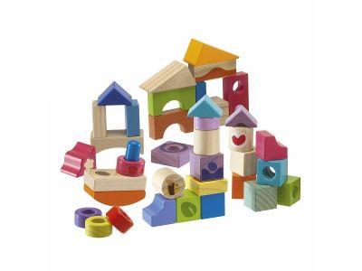 Set cubetti 40 pezzi in legno Chicco a casa tua in 2 giorni!