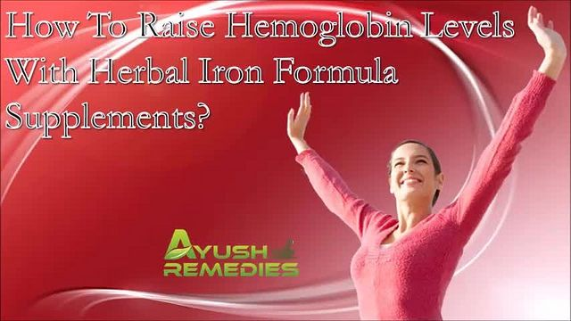 You can find more about the how to raise hemoglobin levels at http://www.ayushremedies.com/herbal-treatment-for-iron-deficiency-anemia.htm  Dear friend, in this video we are going to discuss about the how to raise hemoglobin levels. If an individual is known to have low hemoglobin levels in the blood, the herbal iron formula supplements like Herboglobin capsules can bring best results.