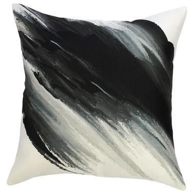 Cushion Cover - Brush Black