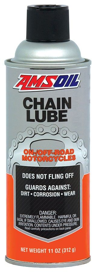 AMSOIL Chain Lube is suitable for all types of chains, including O, X and Z roller chains found in street, off-road and racing motorcycles. It is also excellent for bicycle, agricultural and industrial applications.