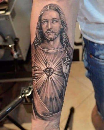 Religiosos Tatuajes Del Sagrado Corazon De Jesus Tatuajes Jesus