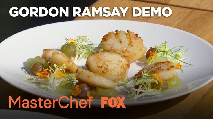 1026 best gordon ramsay images on pinterest gordon ramsay cooking gordon ramsay demonstrates how to prepare a scallop dish season 8 ep fandeluxe Choice Image