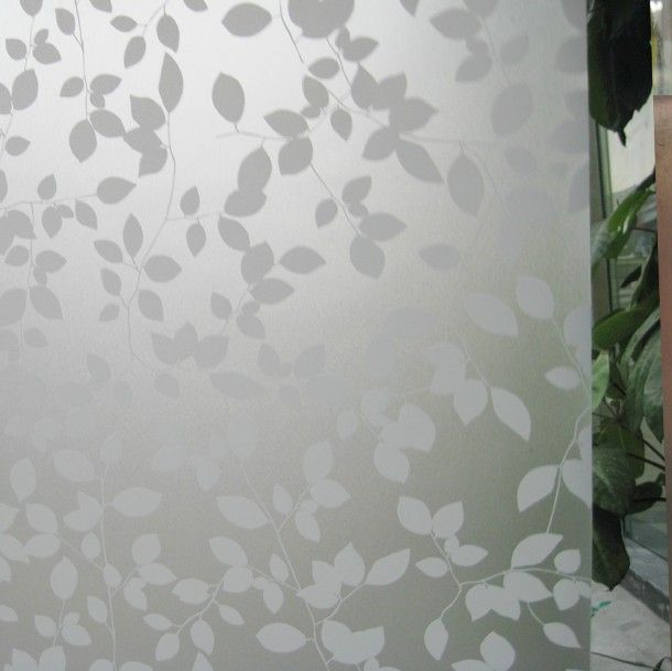 frosted glass static cling | 92cm-width-Frosted-UV-static-cling-transparent-sunscreen-livingroom ...