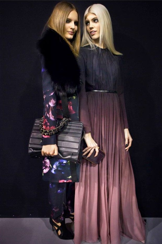 ELIE SAAB Ready-To-Wear Fall Winter 2014-2015 - Backstage