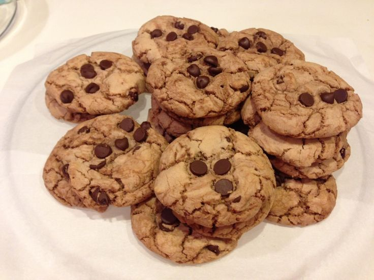 Perfect Nutella Chocolate Chip Cookies - West Coast Mama