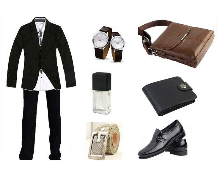 Vintage Men Shoulder Bag Soft PU Leather Flap Top Casual Sales Online black - Tomtop.com