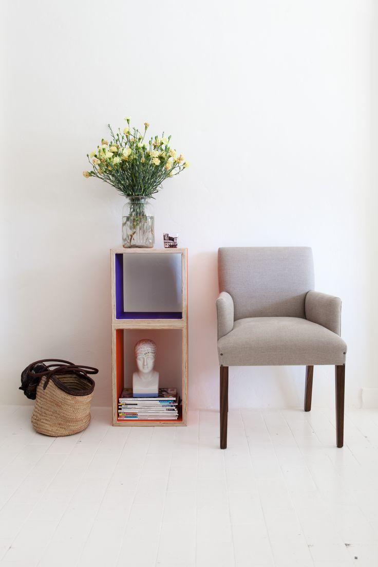 Adaptable plywood boxes, great storage solutions! www.siaandme.com