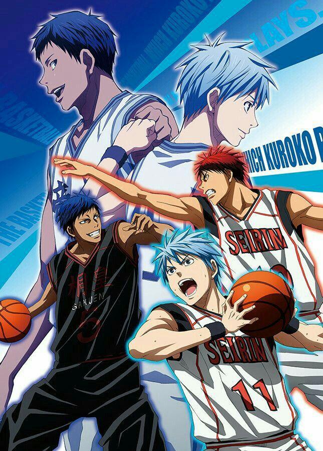 Kuroko no basket - Kuroko, kagami & aomine