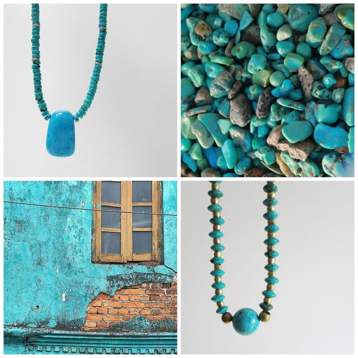The love of turquoise... By Blue Margarita on Handmade in Europe