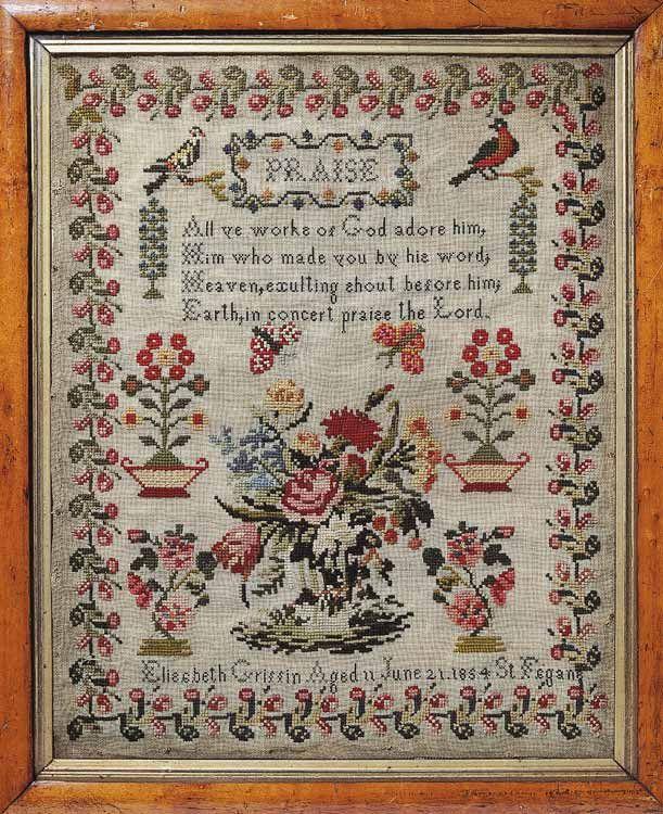 Cross Stitch Sampler Kits and Patterns - Everything Cross Stitch 45