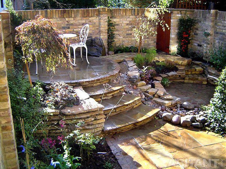 Дизайнерская лестница из камня