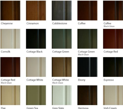 Kitchen Cabinets Stain Colors