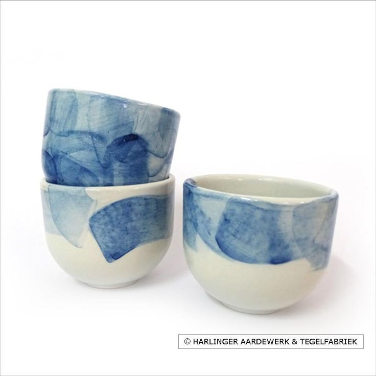 unique traditional delftblue earthenware from Harlingen, The Netherlands / 100% handmade products
