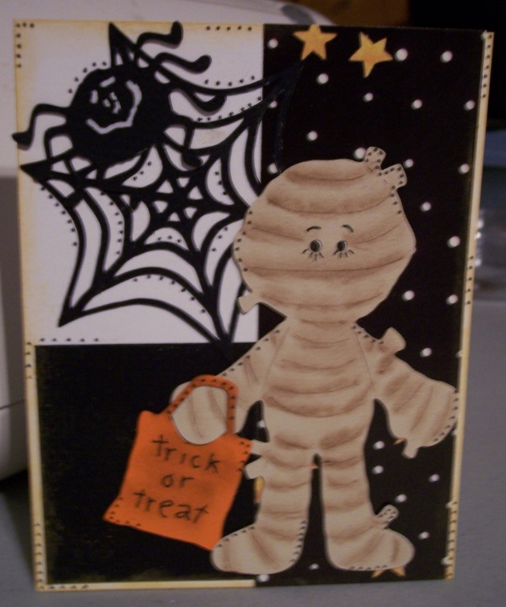 Halloween Cricut Design 3 Cards Pinterest Cricut