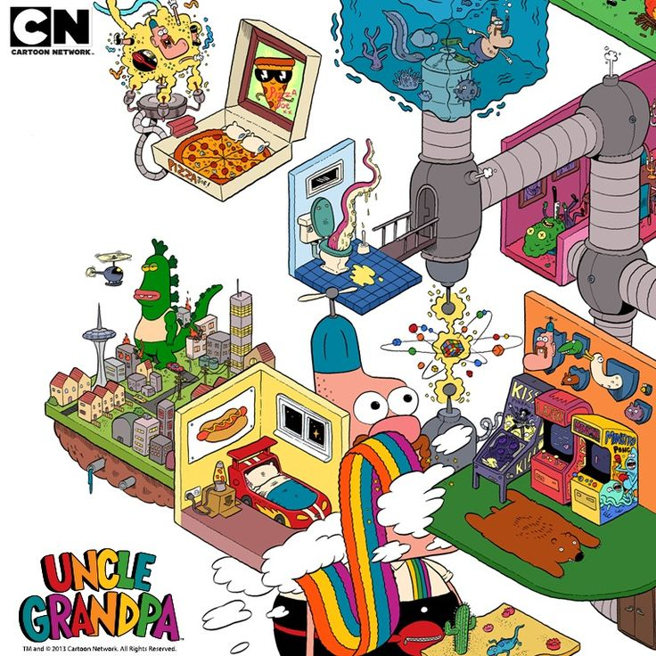 Cartoon Network Brasil: Confere os Vídeos Exclusivos e o Poster de Uncle Grandpa