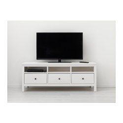 hemnes tv unit white stain stains hemnes and living rooms. Black Bedroom Furniture Sets. Home Design Ideas