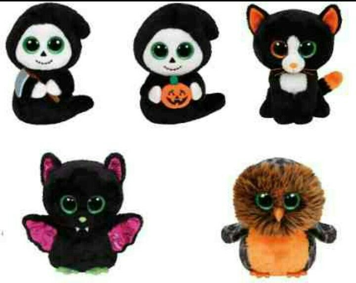 Happy Halloween everyone!! These are the 2015 Halloween beanie boos!