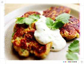Toast: Sweet Potato Cakes from Ottolenghi's Plenty - IHCC