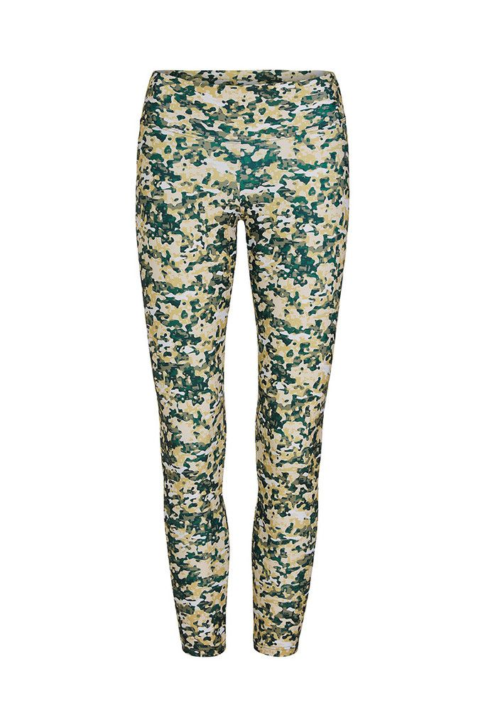 Jungle Pixel Printed Yoga Legging – Dharma Bums Yoga and Activewear