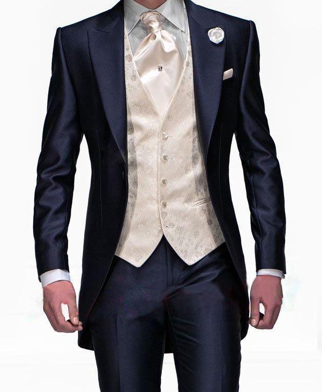 2015-Suits-New-Design-Navy-Blue-One-Button-Groom-Tuxedos-Groomsmen-Men-s-Wedding-Suits-Best