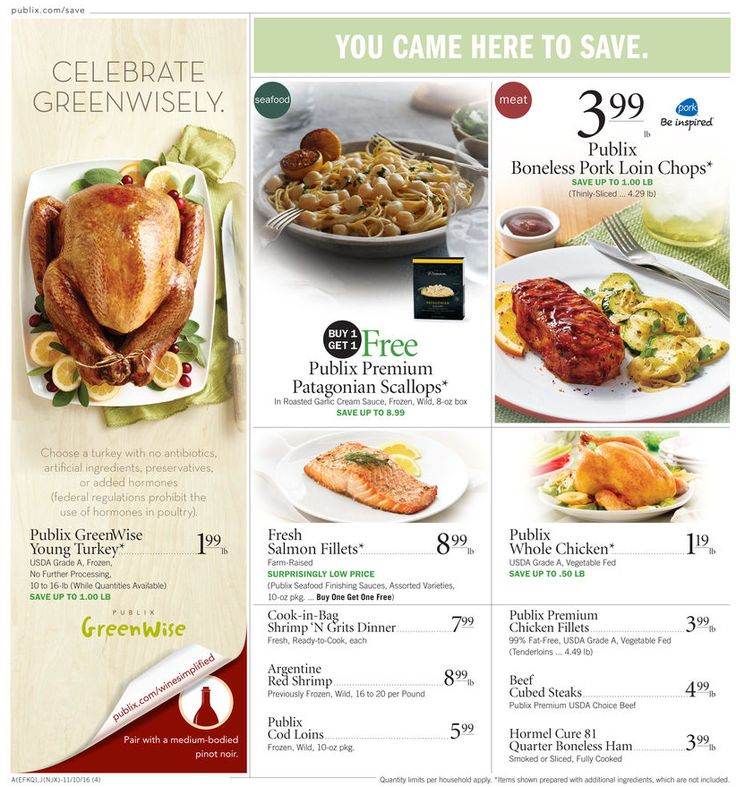 Publix Weekly Ad November 9 - 15, 2016 - http://www.olcatalog.com/grocery/publix-weekly-ad.html