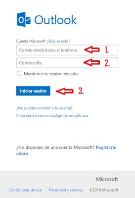 Full tutorial on how to login to outlook is available here -> http://www.iiniciarsesion.com/2016/01/outlook-iniciar-sesion.html
