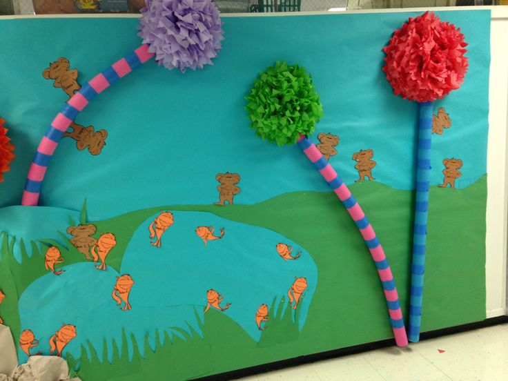 Lorax Classroom Decor ~ Lorax bulletin board boards pinterest