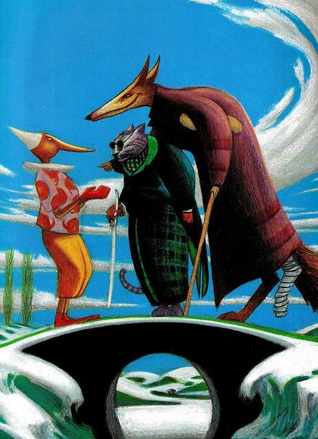 Pinocchio by Mattotti 1993