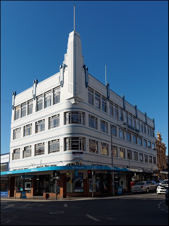An Art Deco Master piece, The Holyman building, Launceston.